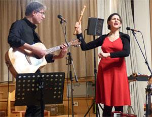 Musique in Aspik bei Paks am Hesselberg